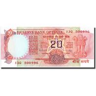 India, 20 Rupees, KM:82b, SPL+ - India