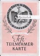 Propaganda Hitler Nazi Drittes Reich Reichsparteitag Hakenkreuz Swastika Propagandakarte Breslau WEIHNACHTSANGEBOT!!!!!! - Weltkrieg 1939-45