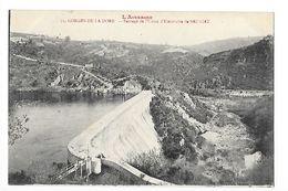 SAUVIAT  (cpa 63)  Gorges De La Dore - Barrage De L'usine D'électricité De Sauviat -   - L 1 - France