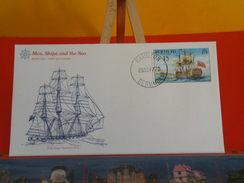 Voilier > Schooner Ship Sloop Peacok 1813 > Bermuda > Hamilton > 26.9.1977 - FDC 1er Jour - Bermudes