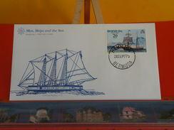 Voilier > Schooner Américan Radeau 1776 > Bermuda > Hamilton > 26.9.1977 - FDC 1er Jour - Bermudes