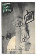 SAINT-MAURICE-de-PIONSAT  (cpa 63)  Dans L'église, Statue De Jeanne D'Arc -   - L 1 - France