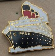 PAQUEBOT - NAVIRE - BATEAU - PARIS - TABLO -  (19) - Boats
