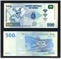 CONGO DR (Kinshasa)  -  2013  500 Francs  Diamond Mining  UNC Banknote - Congo