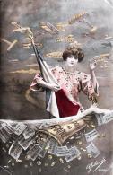 [DC11013] CPA - AVIATION MILITAIRE POUR LA FRANCE SOUSCRIPTION NATIONALE - Non Viaggiata 1915 - Old Postcard - Patrióticos