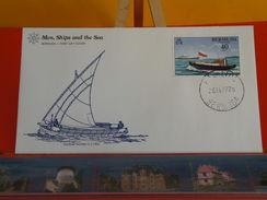 Voilier > Schooner Gunboat Number 5 C 1800 > Bermuda > Hamilton > 26.9.1977 - FDC 1er Jour - Bermudes