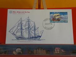 Voilier > Schooner Ship Designed For Lake Champlain 1777 > Bermuda > Hamilton > 26.9.1977 - FDC 1er Jour - Bermudes