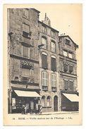 RIOM  (cpa 63)  Vieille Maison Rue De L'horloge -   - L 1 - Riom
