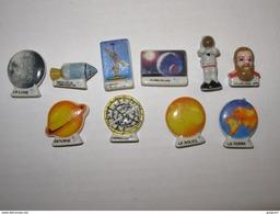 10 FEVES L'astronomie Depuis GALILEE Serie Compléte 2010 , Lune , Conquete De L'espace - History