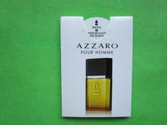 AZZARO  - PUFFER  -  Carte Parfumée - Modern (from 1961)