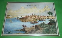 DEUTSCHLAND - Khartum - Weißer Und Blauer Nil - Stahlstich(2 Foto)(6543AK) - Sudan