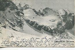 Alpes Suisses - Massif Du Grand- Combin, Valsoray 1906 Werbung Chocolat Klaus (001462) - VS Valais