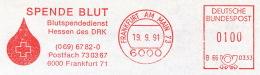 Freistempel 4842 Blutspende Tropfen - Marcofilia - EMA ( Maquina De Huellas A Franquear)