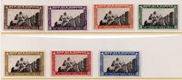 1935 S. Marino - Fondazione Fascio N. 186 -192 Serie Completa Nuova MLH* - San Marino