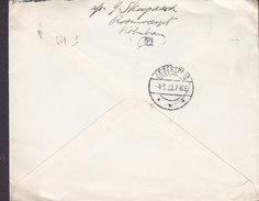 Denmark Postal Statationery Ganzsache Entier (35-Z) 20 Øre Wertziffer TMS Cds. KØBENHAVN Ø. 1926 JÆGERSPRIS (2 Scans) - Postal Stationery