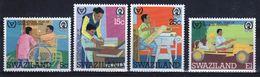 Swaziland Set Of Stamps To Celebrate 25th Anniversary Of Duke Of Edinburgh Award Scheme 1981. - Swaziland (1968-...)