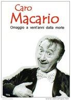 [DC0401] CARTOLINEA - CARO MACARIO - OMAGGIO A 20 ANNI DALLA MORTE - TEATRO CARIGNANO E REGIO - TORINO - Attori