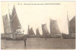 Heist / Heyst - Souvenir De Mes Vacances à Heyst-sur-Mer - 1906 - Uitgave H.T. - Zeilboot / Barque à Voile - Heist