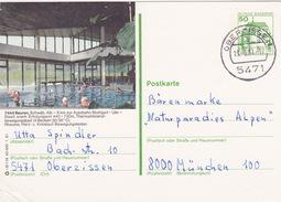 """BPK Bund P 134 I """"Beuren"""" Gelaufen Ab Oberzissen (ak0845) - [7] Repubblica Federale"""
