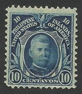 Philippines, 10 C. 1906, Sc # 245a, Mi # 241a, MH. - Philippines