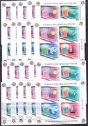 Montenegro 2006 50Y Europa 2 M/s  PERFORATED & IMPERFORATED  100x ** Mnh (f110) - Europese Gedachte