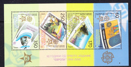 Macedonia 2005 50Y Europa M/s ** Mnh 100x  (F108) - Europese Gedachte