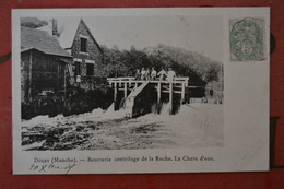 DUCEY - Carte Postale Beurrerie Centrifuge De La Roche - La Chute D'eau - 1905 - Ducey