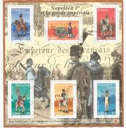 FRANCE.Napoléon 1 Er  Et La Garde Imperiale,  Bloc-feuillet Nr 72, France, Oblitéré 1 ère Qualité - Napoléon