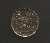 Repubblica Di San Marino 200 Lire 1995 - San Marino