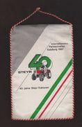 AC -  40th ANNIVERSARY OF STEYR TRACTOR INTERNATIONALES PARTNERTREFFEN SALZBURG 1987 PENNANT - Tracteurs