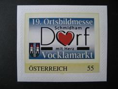 Personalisierte Marke Postfrisch, Ortsbildmesse Schmidham Selbstklebend - Österreich