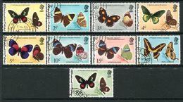 Belize 1975-78 Butterflies - 2nd Wmk - Set Used (SG 403-413) - Belize (1973-...)