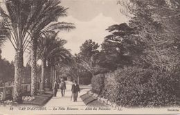 CPA 06 CAP D'ANTIBES La Villa Eilenroc - Allée Des Palmiers - Autres Communes