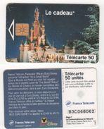 TELECARTE 50 EURODISNEY LE CADEAU - 11 93 TIRAGE 6 000 000 EX - Disney