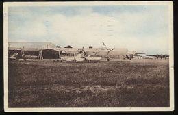 Saint-Jacques-de-la-Lande - Le Camp D'aviation, Devant Les Hangars - Côté Abimé - Autres Communes