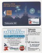 TELECARTE 50 DISNEYLAND PARIS SOIREES D'ETE STARNIGHTS - ALWAYS COCA COLA - 06 94 TIRAGE 500 000 EX - Disney