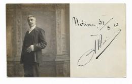 UDINE CART. FOTOGRAFICA 31/08/1910  - NV   FP - Udine
