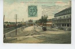CANADA - QUEBEC - SHERBROOKE - Grand Trunk Depot And New Sherbrooke House - Sherbrooke