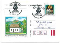 7544 Hungary SPM Personality Royalty Celebration King Ladislaw Saint Knight Military - Royalties, Royals