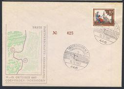 Deutschland Germany 1967 Cover / Brief / Lettre - Erste Partnerschafts.Ausstellung Coevorden/Nordhorn / Stamp Exhibition - Brieven En Documenten