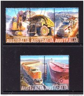 Australia 2008 Heavy Haulers Set Of 5 CTO - Used Stamps