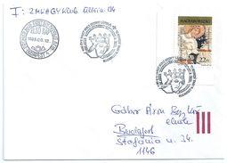 7545 Hungary FDC Personality Royalty King Saint Ladislaw Knight Militar History XI Century - Royalties, Royals