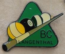 BC LANGENTHAL - BILLES - QUEUE - BILLARD CLUB - SUISSE - SWISS - SCHWEIZ - (19) - Billiards