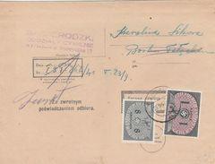 General Gouvernement Lettre De Service Krakau 1941 - 1939-44: 2. WK