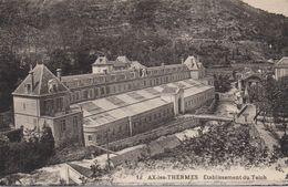 CPA 09 AX LES THERMES  Etablissement Du Teich - Ax Les Thermes