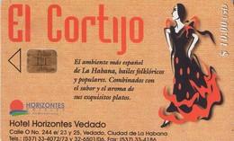 TARJETA TELEFONICA DE CUBA (EL CORTIJO) (449) - Cuba