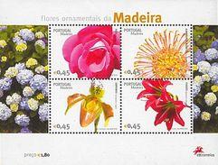 Portugal , 2006 , Madeira Flowers , Block , Bloc - Plants