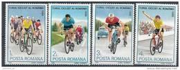 1986 ROUMANIE 3702-5** Cyclisme, Tour De Roumanie - Nuovi