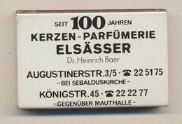 Kerzen - Parfumerie Elsässer - Boite D'allumettes De Nümberg - Scatole