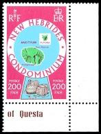 NOUV.HEBRIDES 1977 - Yv. 519 ** MNH SUP Cdf  Cote= 9,20 EUR - Cartographie Des îles. Légende Anglaise  ..Réf.POL23260 - Nuevos